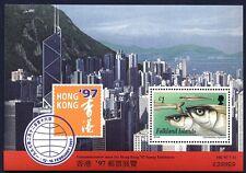 """FALKLAND - 1997 - """"Hong Kong '90"""" - Esposizione filatelica"""