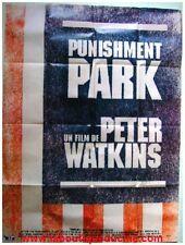 PUNISHMENT PARK Affiche Cinéma / Movie Poster PETER WATKINS