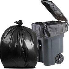 PlasticMill 100 Gallon, 3 Mil, 67x79, Ultra Heavy Duty, Garbage Bags / Trash Can