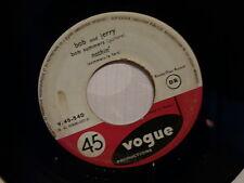BOB AND JERRY Nothin / le martien fantome SP  2 titres V 45 540