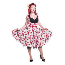 Rockabella Cherry 1950er Jahre Rockabilly Retro Vintage Swing Ausgestellt