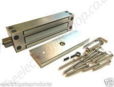 External Magnetic Lock Stainless Steel Exterior 545kg(1200lb Full Kit/ZL Bracket