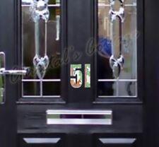 1 numéro autocollant imperméable écureuil Colour House no. porte de Garage Bin Mural Voiture