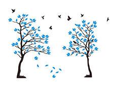 Bm22 murales wall sticker árbol ramas pájaro pared Pegatina 40 colores para Wah