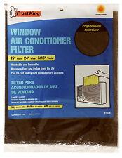 F1524 Window Air Conditioner Filter, 15x24x.25-In. - Quantity 1