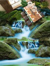 3D water stone nature418 Floor WallPaper Murals Wall Print Decal 5D AJ WALLPAPER