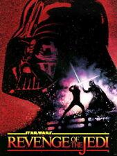 Star Wars Revenge Of The Jedi Painting Art Giant Print POSTER Affiche