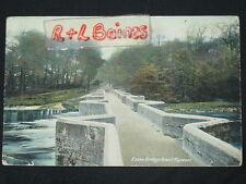 Essex Bridge, Great Haywood, 1919, Staffordshire