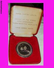 DEC1991 - MEDAILLE 70° ANNIVERSAIRE BATAILLE DE LA SOMME ROYAL BRITISH LEGION