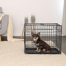 dibea, Gabbia di transporto pieghevole per cuccioli cani, taglia S-XXXL