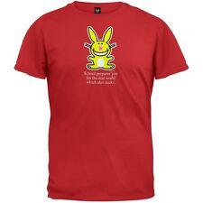 Happy Bunny - School Sucks Adult Mens T-Shirt