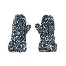 Aran Traditions Kids Winter Warm Knitted Style Wool Slub Mix Mittens Gloves