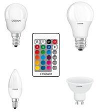 Ampoule LED changement de couleur GLS bougie golf GU10 9W 4.5W avec télécommande