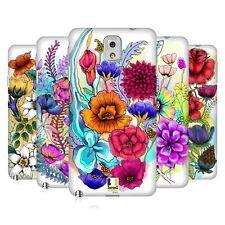 Head CASE DESIGNS watercoloured fleurs Coque arrière dur pour téléphones Samsung 2