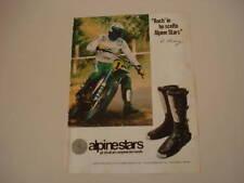 advertising Pubblicità 1979 BRAD LACKEY e KAWASAKI