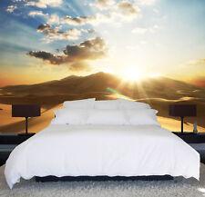 3D Fußabdrücke in der Wüste 2 Fototapeten Wandbild Fototapete BildTapete Familie