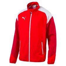 Puma Fußball Esito 4 Woven Jacke mit Cat Logo Herren rot weiß