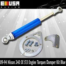 For 89-94 240SX S13 Engine Torques Damper Kit  SR20DET Engine Only blue