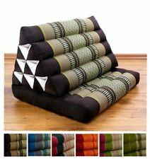 Foldable Thai Mat with XXL Jumbo Triangle Cushion Headrest & 100% Kapok Filling