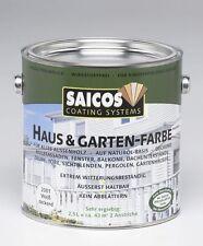 Saicos Casa & Jardín color - varios Colores - 2,5L Contenedor