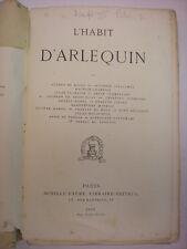 L'HABIT D'ARLEQUIN ACHILLE FAURE LIBRAIRE-ÉDITEUR 1867