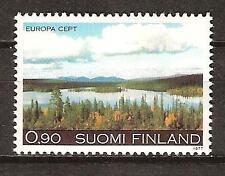 FINLAND # 597 MNH EUROPA AUTUMN LANDSCAPE