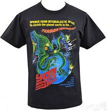 Para hombre Negro T-Shirt Yog monstruo de espacio Sci-fi Horror tentáculos Alien S-5XL