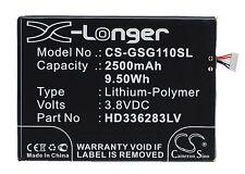 2500mAh Battery for Green Orange GO NX, N1, N1-Y, N1-T, Gsmart Guru G1