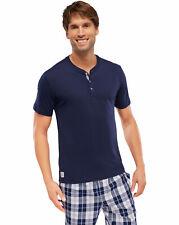 Schiesser Hombre Camiseta manga corta con Tira de botones Mix y Relax camiseta