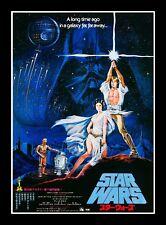 Star Wars 1977 Chinese Movie Poster Canvas Art Film Print Sc-Fi Princess Leia