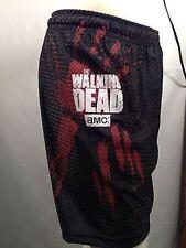 Authentic Walking Dead Hand Blood Mesh Shorts Tv Show Amc S-Xl