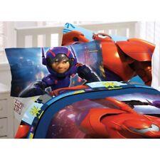 BIG HERO 6 BED SHEET SET - Disney Robot Prodigy Baymax Hiro Bedding Accessories