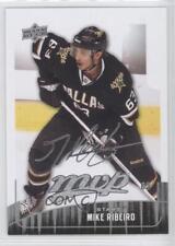 2009-10 Upper Deck MVP #199 Mike Ribeiro Dallas Stars Hockey Card