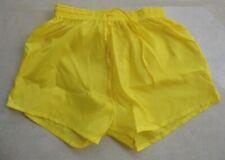 Short nylon jaune taille XS/S, S, M, L, lightly see-through
