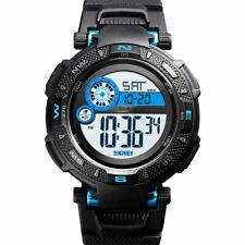 45f3dcbb29bf Reloj Digital Con Dial Grande Skmei Día Fecha Alarma Cronómetro Resistente  Deportes DG1467