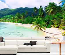 Tropics Island Palms Beach Full Wall Mural Photo Wallpaper Print Home Dec 3D Kid