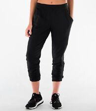Adidas AY7619 Women's Sportswear Long Capri Pants Warm Fleece Thermal Sweatpants