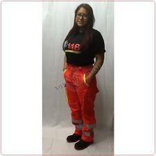 Pantaloni Soccorritore Unisex Vivi con Toppe Arancio Rif. Gialle 118 ANPAS