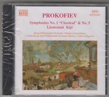 PROKOFIEV SINFONIA N 1 & 5 MOGRELIA CD