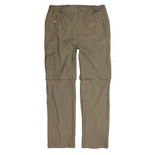 Outdoor-Zipp-off-Hose von Abraxas in khaki für Herren in Übergrößen 2XL-10XL