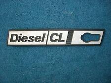 Emblem / Badge Kotflügel links Front Wing left Fiat Ritmo Diesel CL 1. Serie