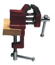 Micro morsa morsetta morsettina con attacco per banco e incudine larghezza 3 cm