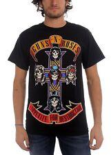 Guns N' Roses Appetite For Destruction Cross Band T-Shirt Black