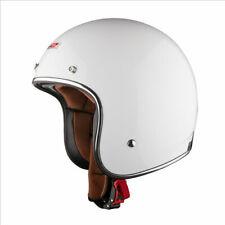 LS2 OF583 BOBBER Fibreglass Open Face Scooter Motorbike Motorcycle Helmet White