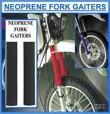 Proline Neoprene Fork Leg Gaiters 40x400mm Motocross Enduro Bike Part Protector