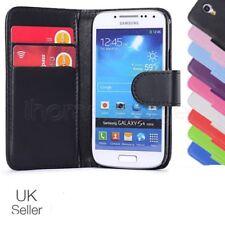 Funda para Estuche tipo Billetera de Cuero para Teléfono Móvil Samsung Galaxy