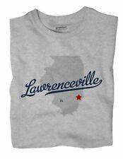 Lawrenceville Illinois IL Ill T-Shirt MAP