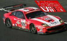Calcas Ferrari 550 GTS Le Mans 2004 69 1:32 1:24 1:43 1:18 Larbre slot decals