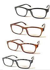 L109 Popular Unisex Nerd Plastic Reading Glasses/Hyperopia Spec/Extra Value Pack
