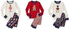 NWT Gymboree GINGERBREAD MAN 2014 Christmas/Holiday Pajamas/Gymmies Boy/Girl